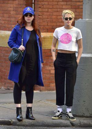 Kristen Stewart with friend out in New York City