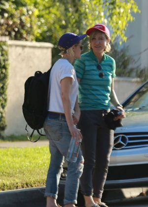 Kristen Stewart with her girlfriend in West Hollywood