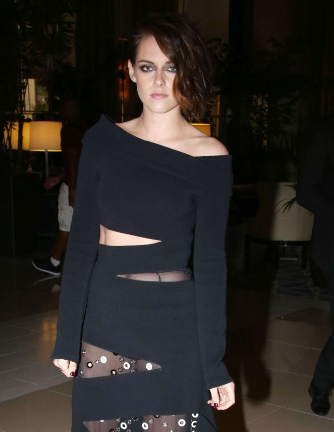 Kristen Stewart - Women In Film 2015 Crystal + Lucy Awards in Century City