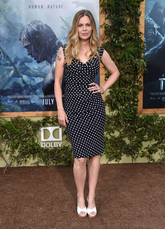 Kristin Bauer van Straten - 'The Legend of Tarzan' Premiere in Los Angeles