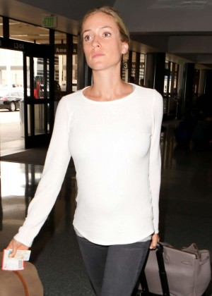 Kristin Cavallari - Arrives at LAX Airport in LA