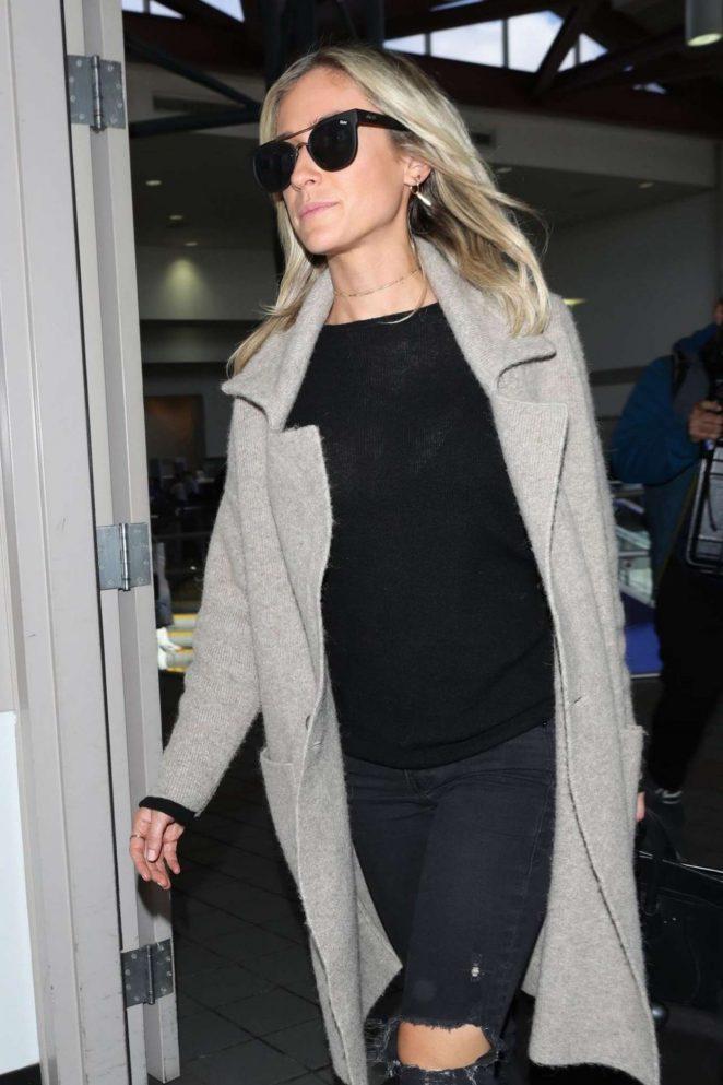 Kristin Cavallari at LAX Airport in Los Angeles