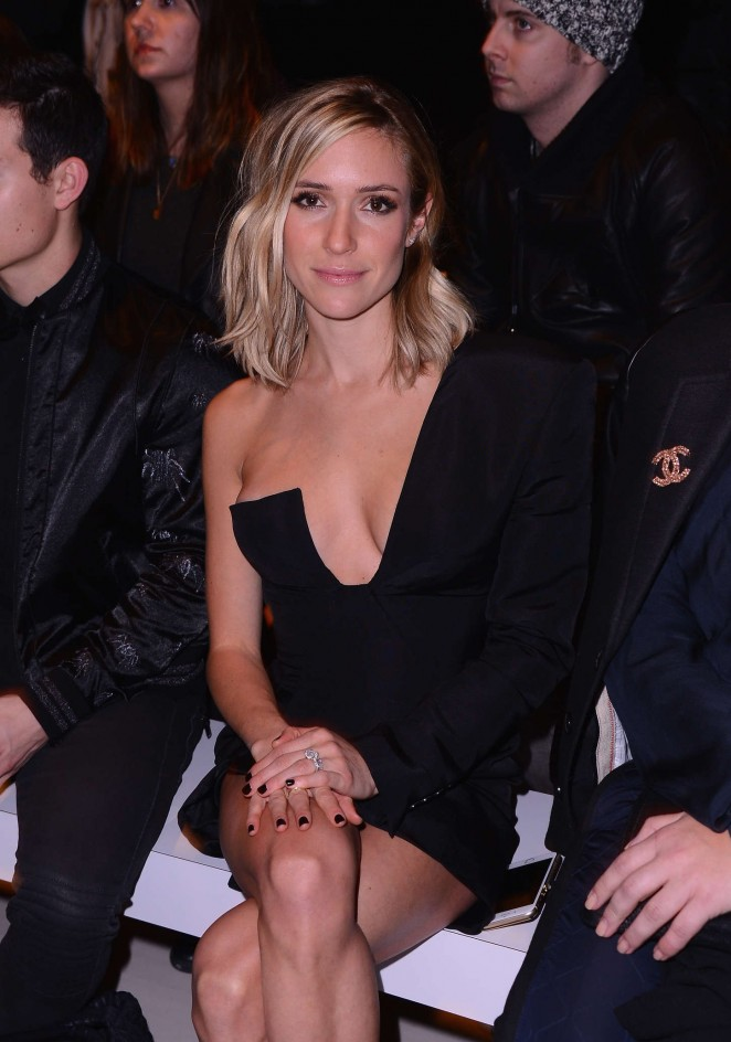 Kristin Cavallari - August Getty Fashion Show 2015 in NY