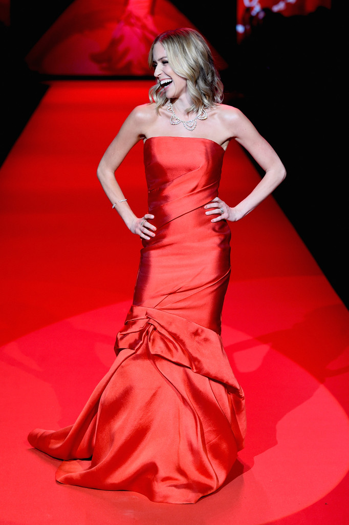 Kristin Cavallari - Go Red For Women Red Dress Collection 2015 in NYC