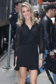 Kristin Cavallari - Heads to Good Morning America in NYC