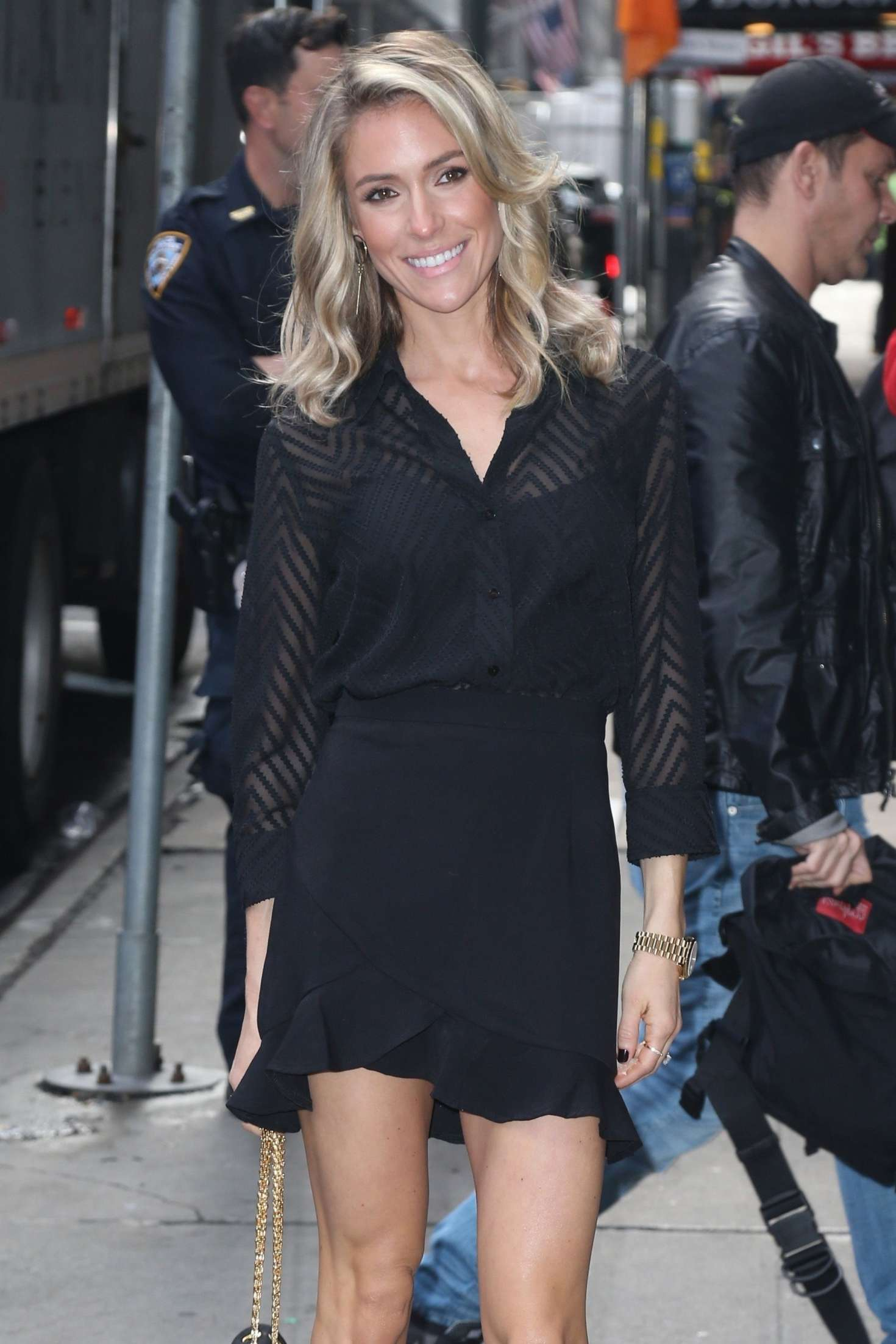 Kristin Cavallari 2019 : Kristin Cavallari: Heads to Good Morning America -07