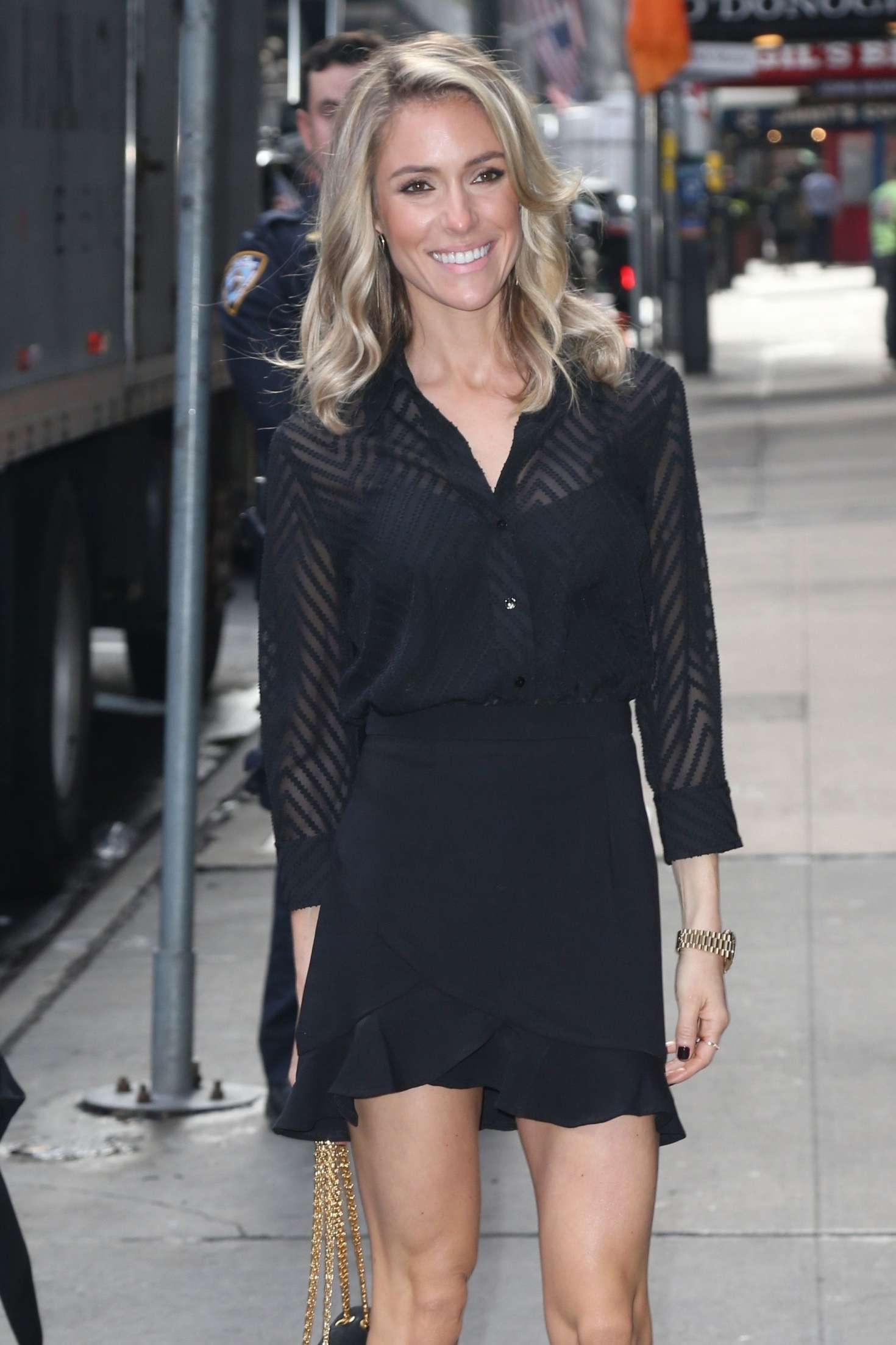Kristin Cavallari 2019 : Kristin Cavallari: Heads to Good Morning America -09