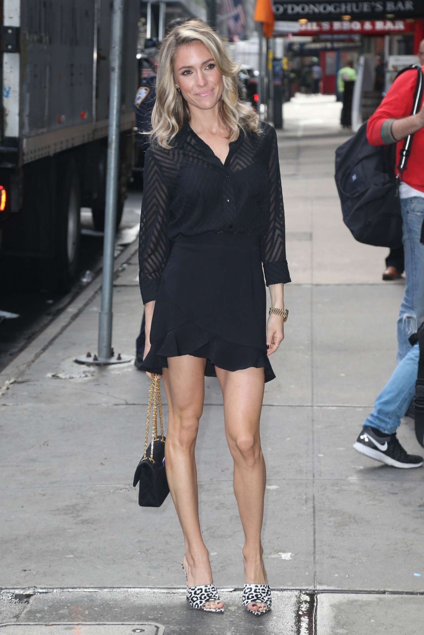 Kristin Cavallari 2019 : Kristin Cavallari: Heads to Good Morning America -10