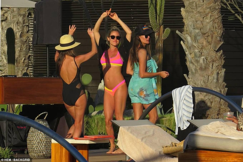 Kristin Cavallari 2020 : Kristin Cavallari – In a pink Bikini in Cabo San Lucas – Mexico-16