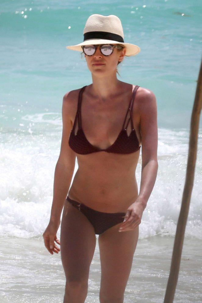Kristin Cavallari in Bikini at the beach in Tulum