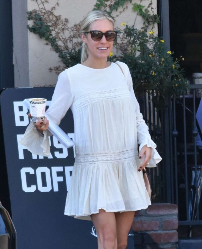 Kristin Cavallari in Mini Dress out in Beverly Hills