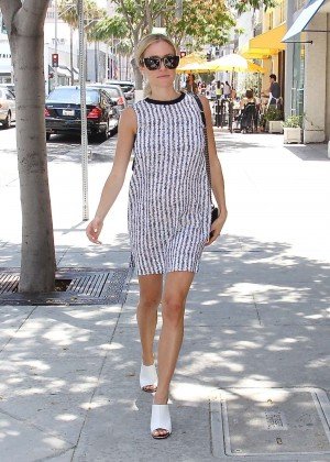 Kristin Cavallari in Mini Dress out in LA