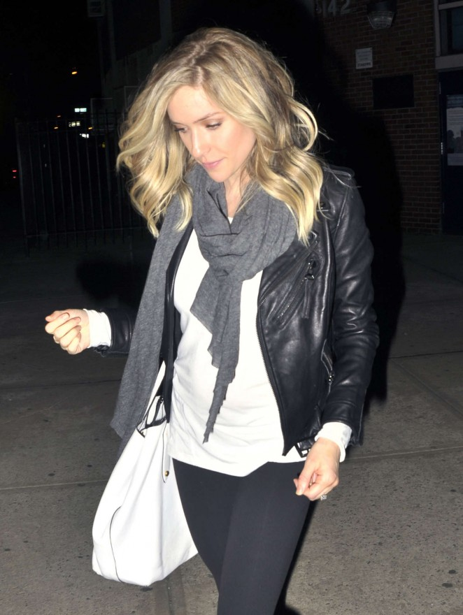 Kristin Cavallari in Tights Out in NYC