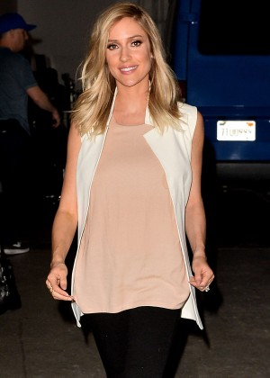 Kristin Cavallari - Leaves a Studio in Hollywood