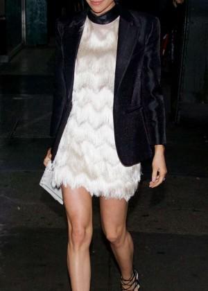 Kristin Cavallari in Mini Dress Out in New York City