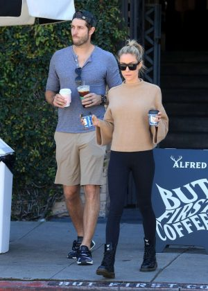 Kristin Cavallari - Out for coffee in West Hollywood