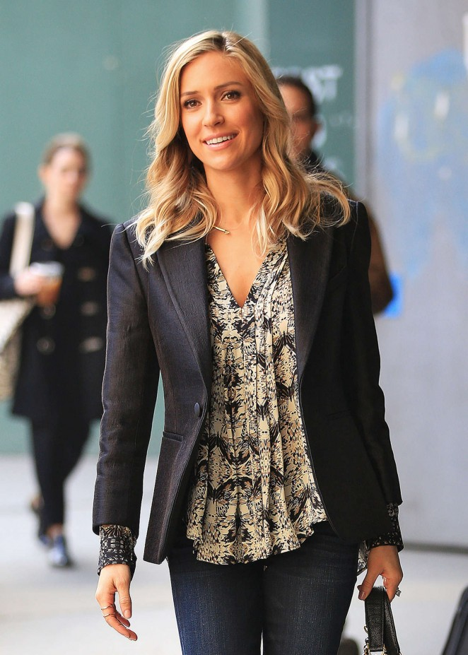 Kristin Cavallari – Out promoting her book in New York City