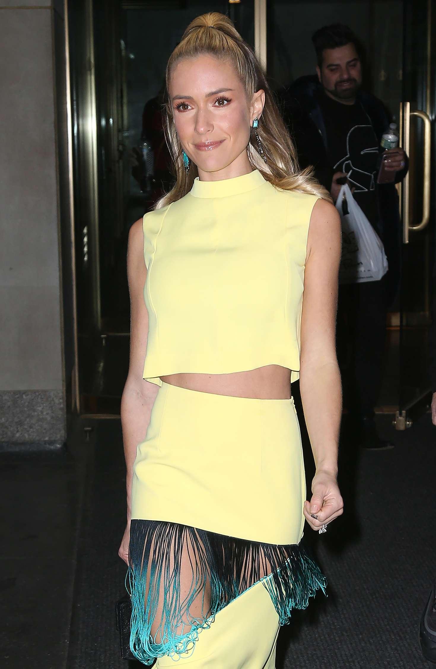 Kristin Cavallari - Outside the Today Show in New York City