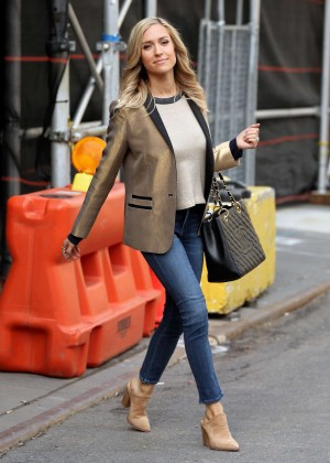 Kristin Cavallari - Promote her new book 'Balancing in Heels' in NYC
