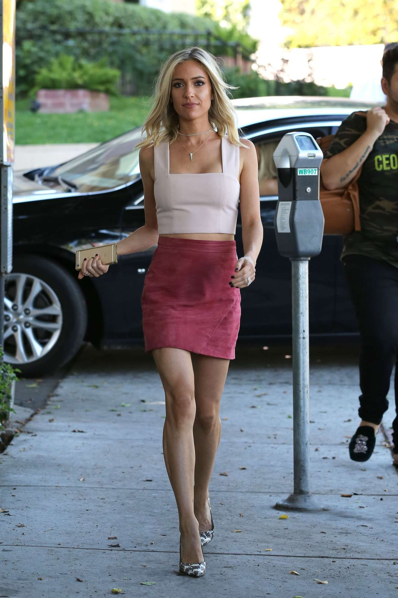 Kristin Cavallari - Seen Arriving at her Pop-Up Shop in West Hollywood