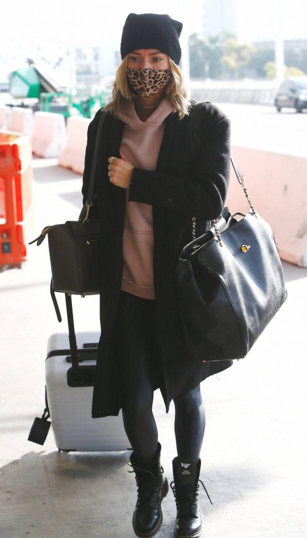 Kristin Cavallari - Seen at LAX in Los Angeles