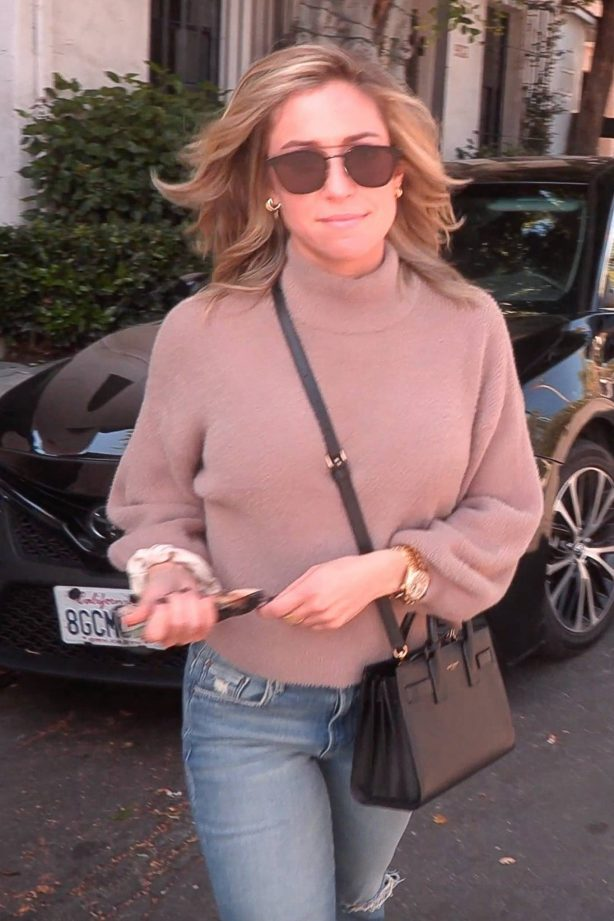 Kristin Cavallari - Seen outside Nine Zero One Salon in West Hollywood