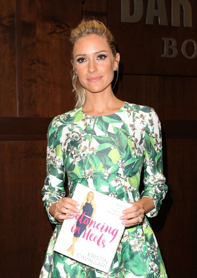 Kristin Cavallari - Signs Copies of Her New Book 'Balancing in Heels' in Los Angeles