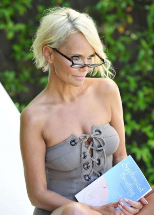 Kristin Chenoweth in Swimsuit - Photoshoot for new headshots in Beverly Hills