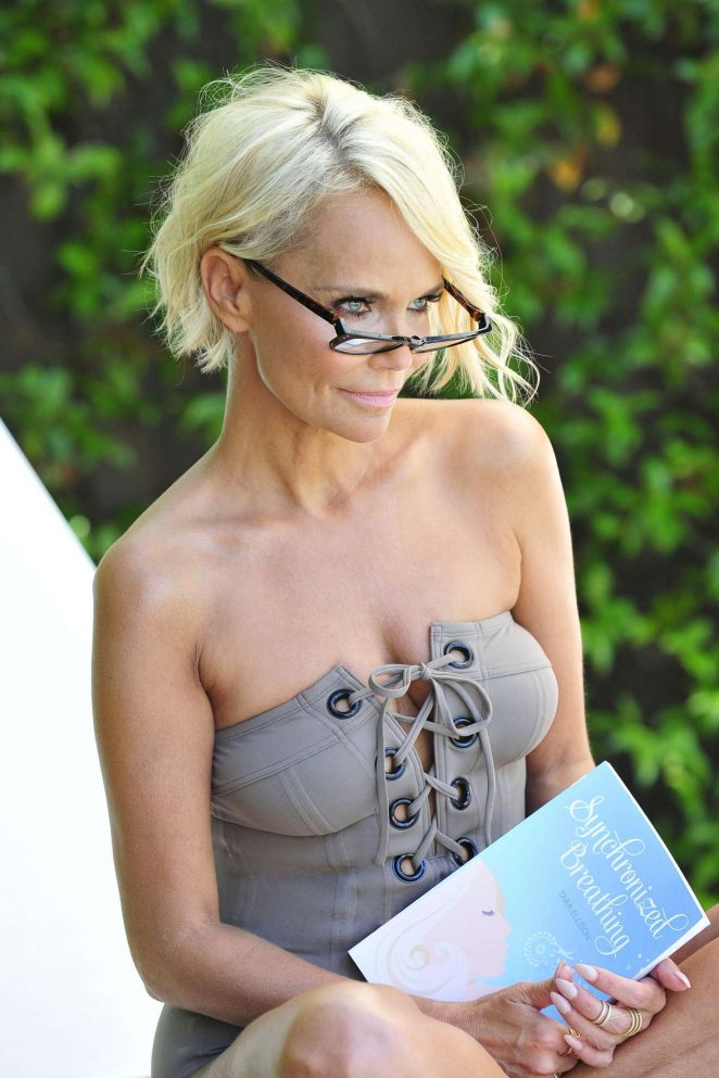 Kristin Chenoweth in Swimsuit – Photoshoot for new headshots in Beverly Hills
