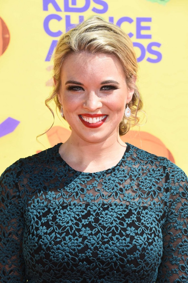 Kristin Coleman - Nickelodeon Kids Choice Awards 2015 in Inglewood