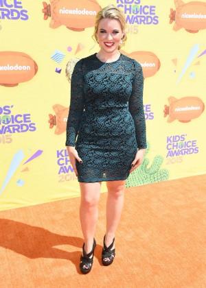 Kristin Coleman: 2015 Nickelodeon Kids Choice Awards -02