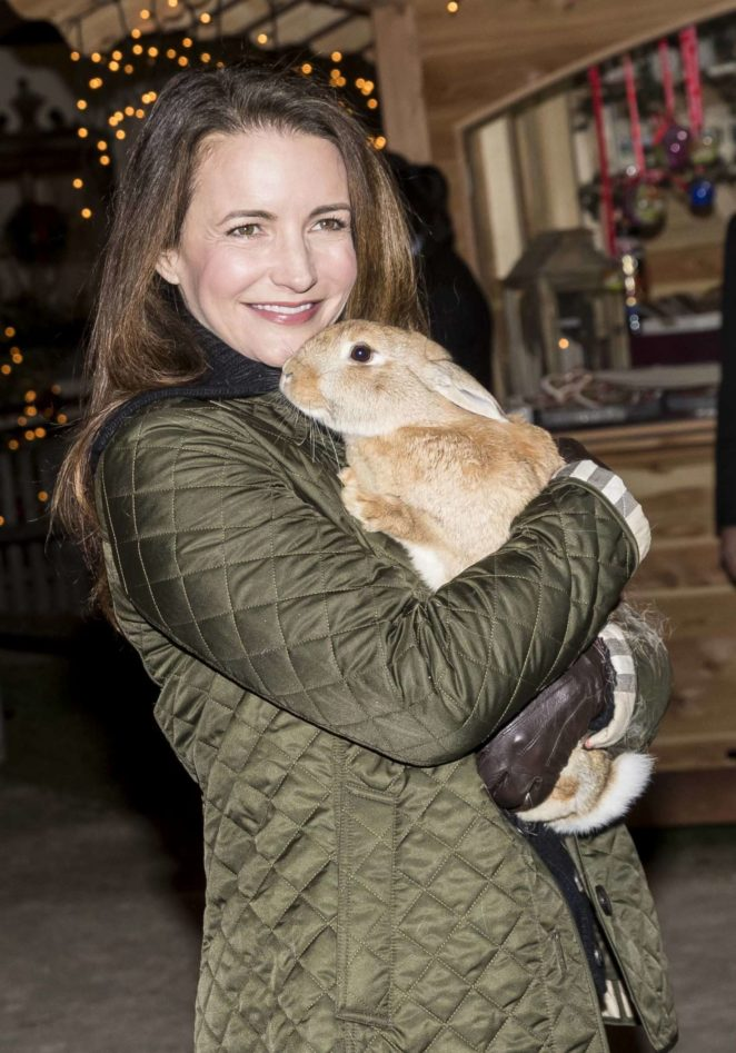 Kristin Davis – Traditional inaguration of the Christmas Market at the Aiderbichl Manor in Henndorf