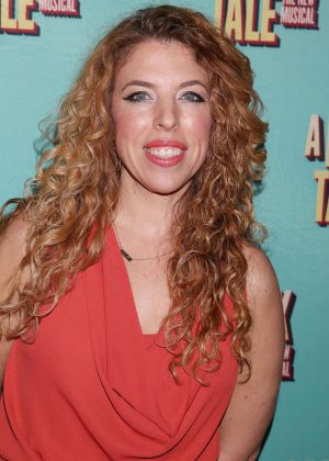 Kristin Hanggi - Opening night of A Bronx Tale at the Longacre Theatre in NY