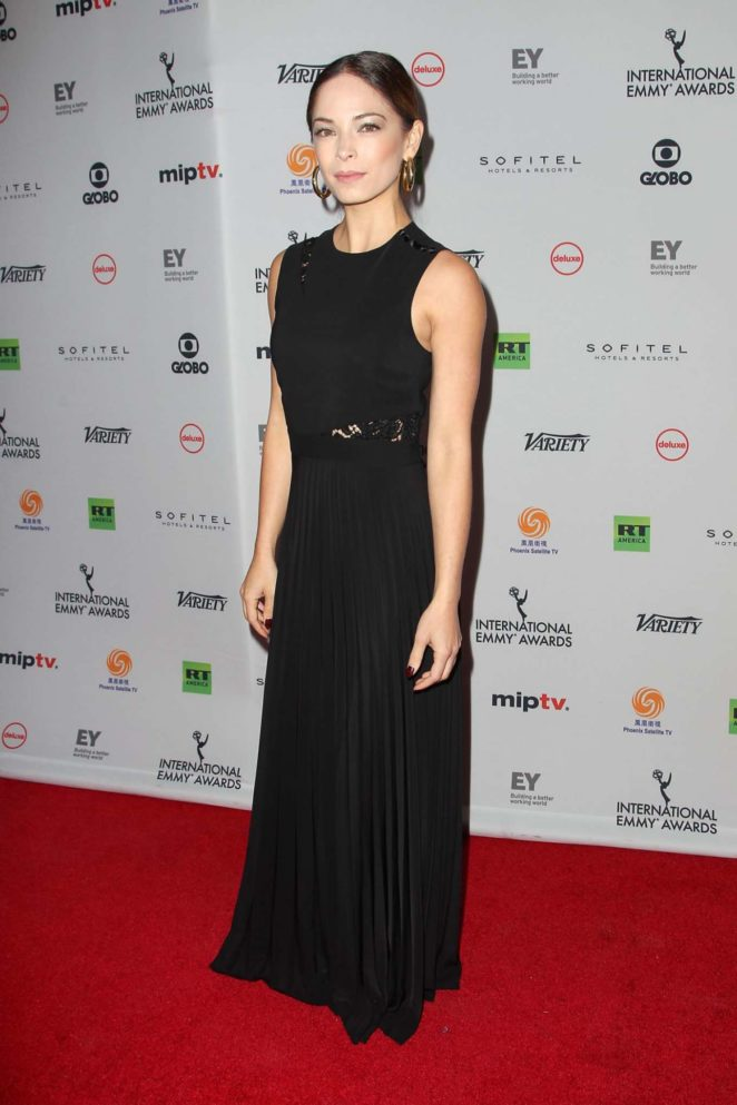 Kristin Kreuk – 45th International Emmy Awards in New York City