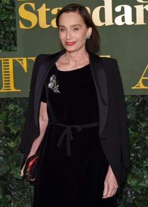 Kristin Scott Thomas - Evening Standard Theatre Awards 2016 in London