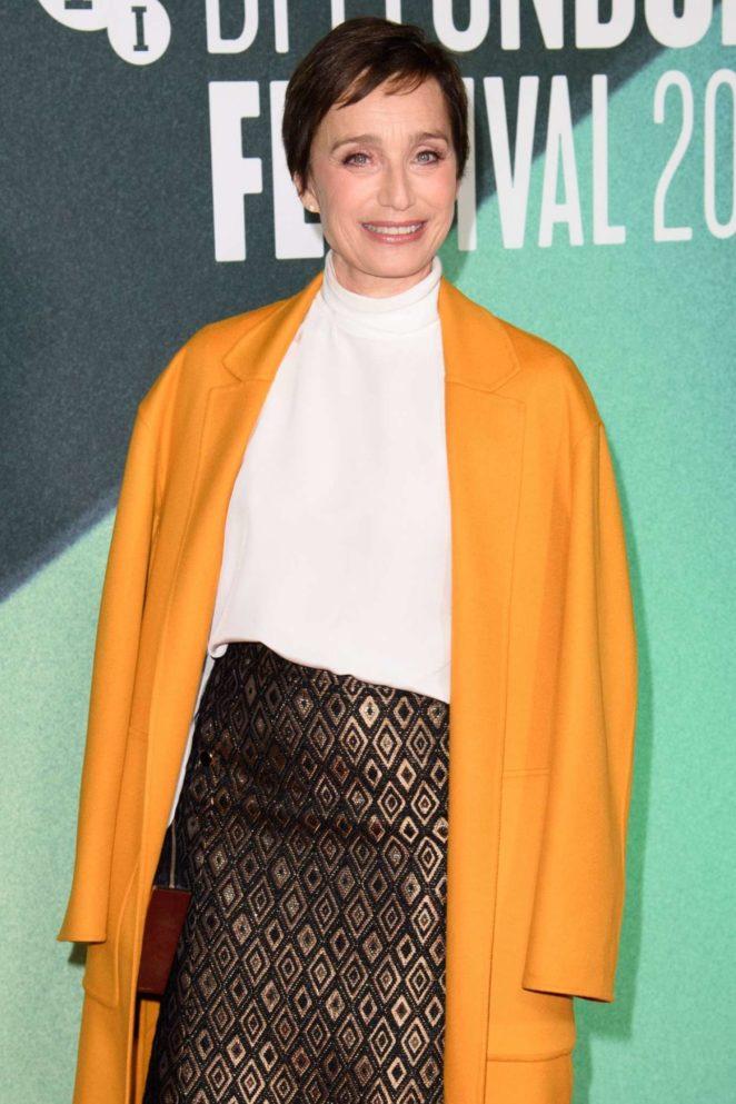 Kristin Scott Thomas - 'The Party' Premiere at BFI Film Festival in London