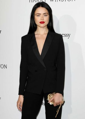Kristina Bazan - 2017 amfAR Gala Haute Couture Fashion Week in Paris