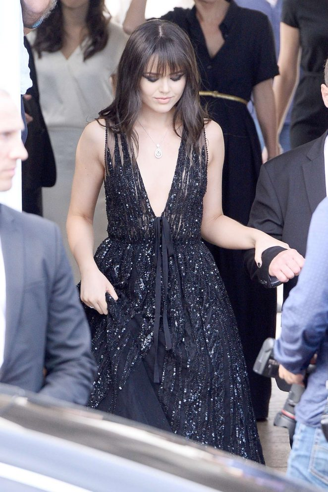 Kristina Bazan - Arrives at 69th Cannes Film Festival in Cannes