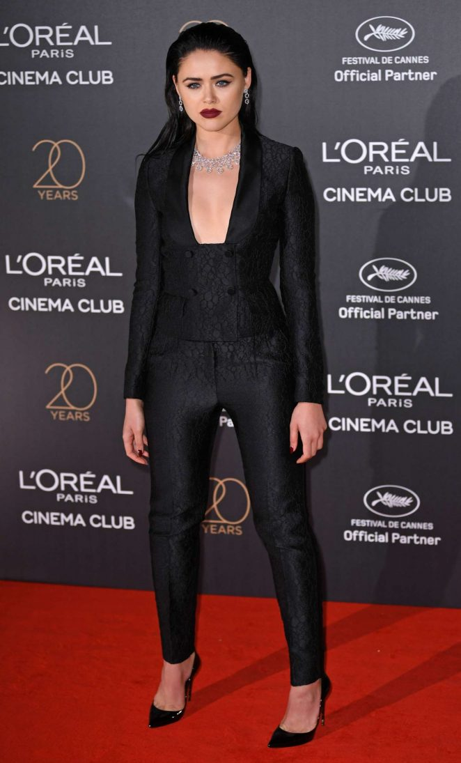 Kristina Bazan - L'Oreal 20th Anniversary Party in Cannes
