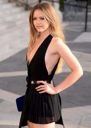 Kristina Bazan - Versace Fashion Show in Paris