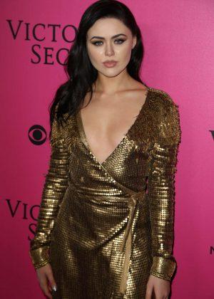 Kristina Bazan - Victoria's Secret Fashion Show 2016 After Party in Paris