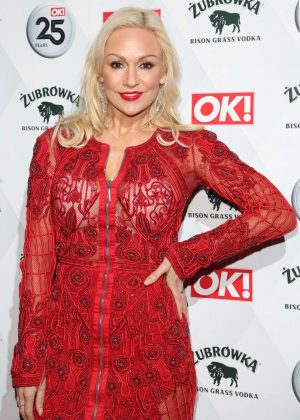 Kristina Rihanoff -  OK! Magazine's 25th Anniversary Party in London