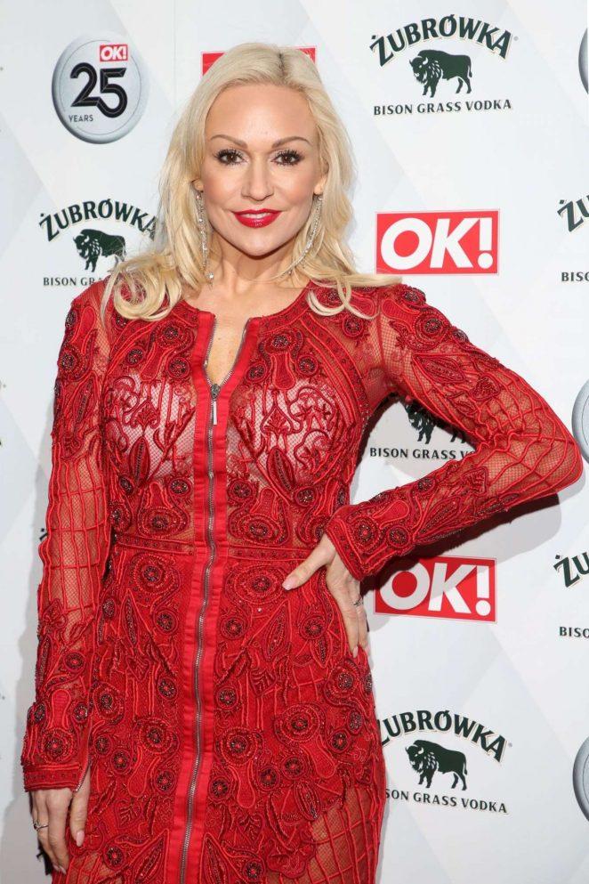 Kristina Rihanoff –  OK! Magazine's 25th Anniversary Party in London