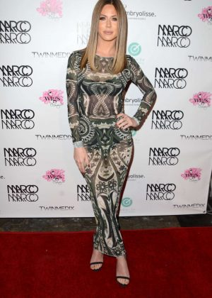 Kristine Elezaj - Marco Marco Fashion Show in Los Angeles