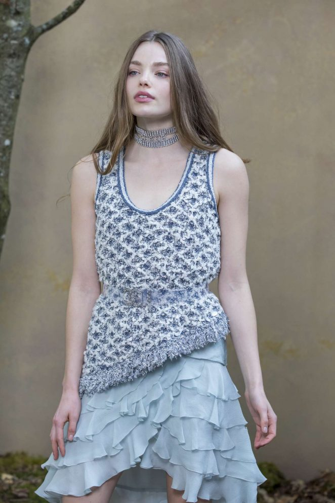 Kristine Froseth: Chanel Fashion Show 2018 in Paris -09 ...