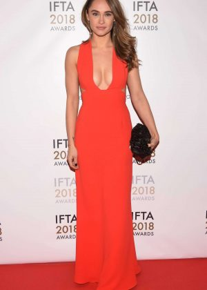 Kristy Dawn Dinsmore - 2018 IFTA Film and Drama Awards in Dublin