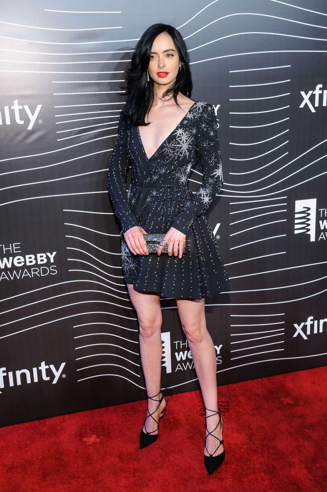 Krysten Ritter - 20th Annual Webby Awards in New York