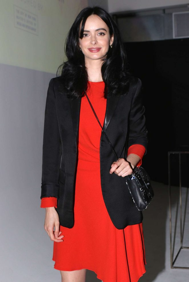 Krysten Ritter - Arrival at Vulture Festival in New York