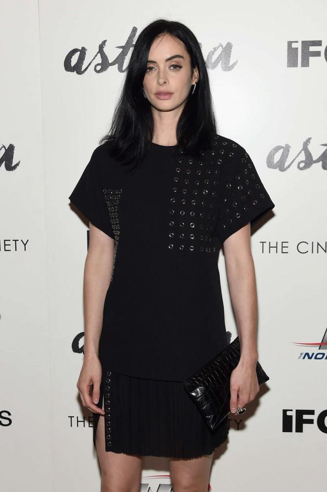 Krysten Ritter - 'Asthma' Premiere in NYC