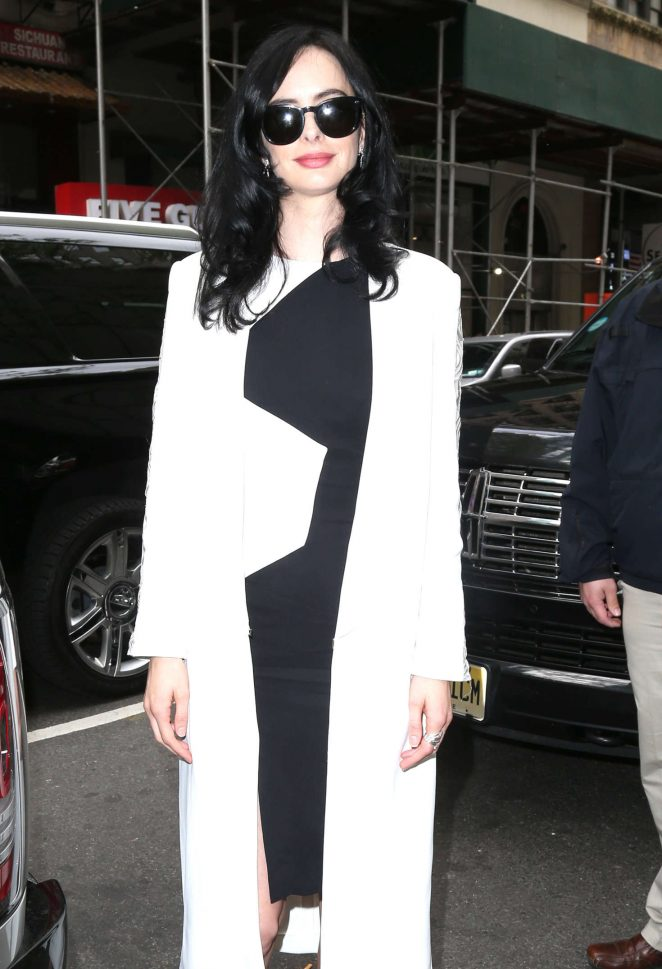 Krysten Ritter at The Today Show in New York City